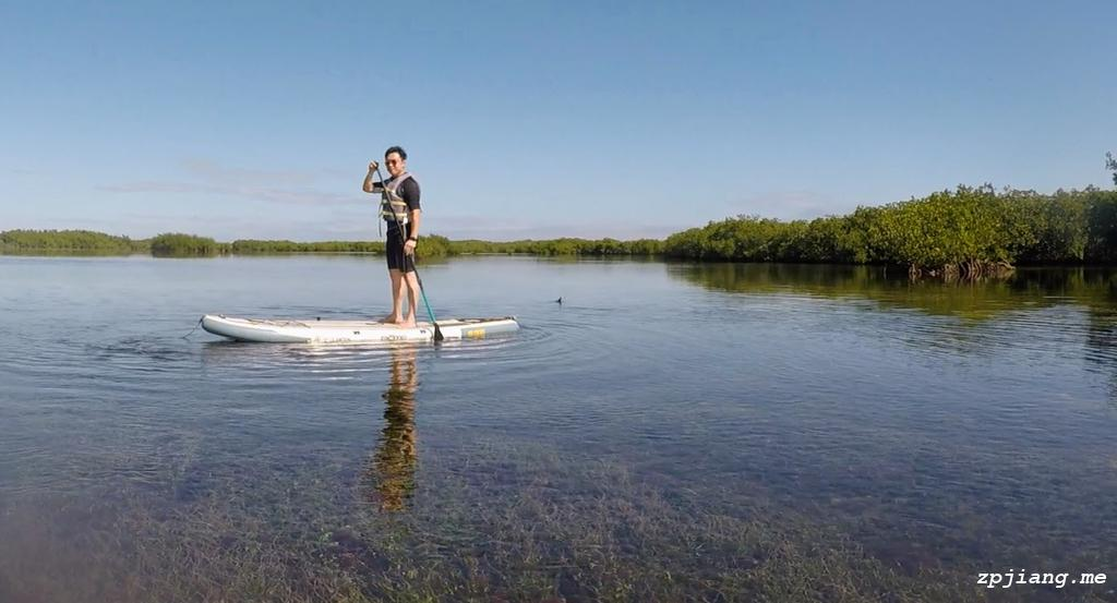 Stand on paddle board