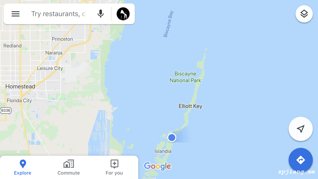 The position of paddleboarding in Biscayne National Park