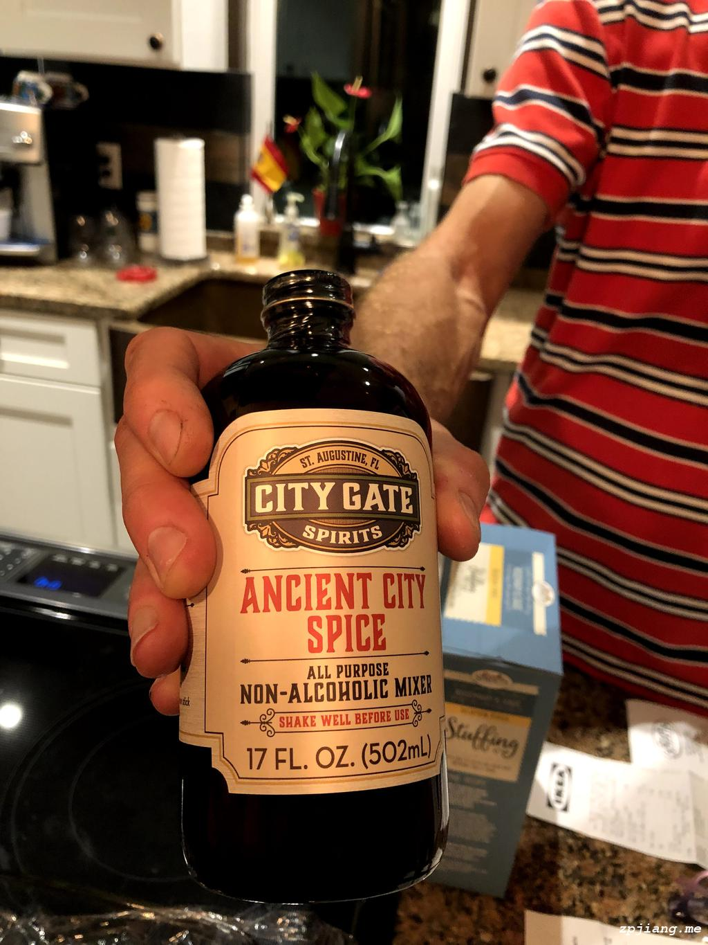 City Gate Spirits Mixer