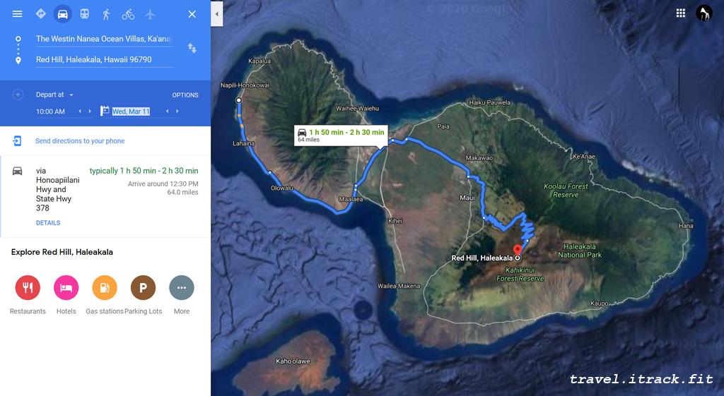 Haleakala Map