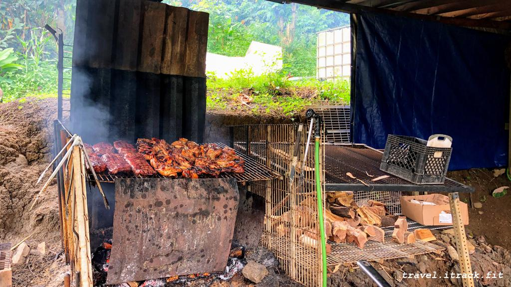 BBQ on Hana Highway.