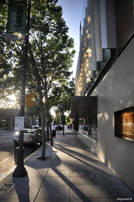 University Avenue during COVID-19