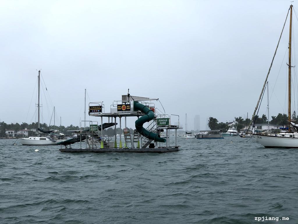 Boat in Miami.