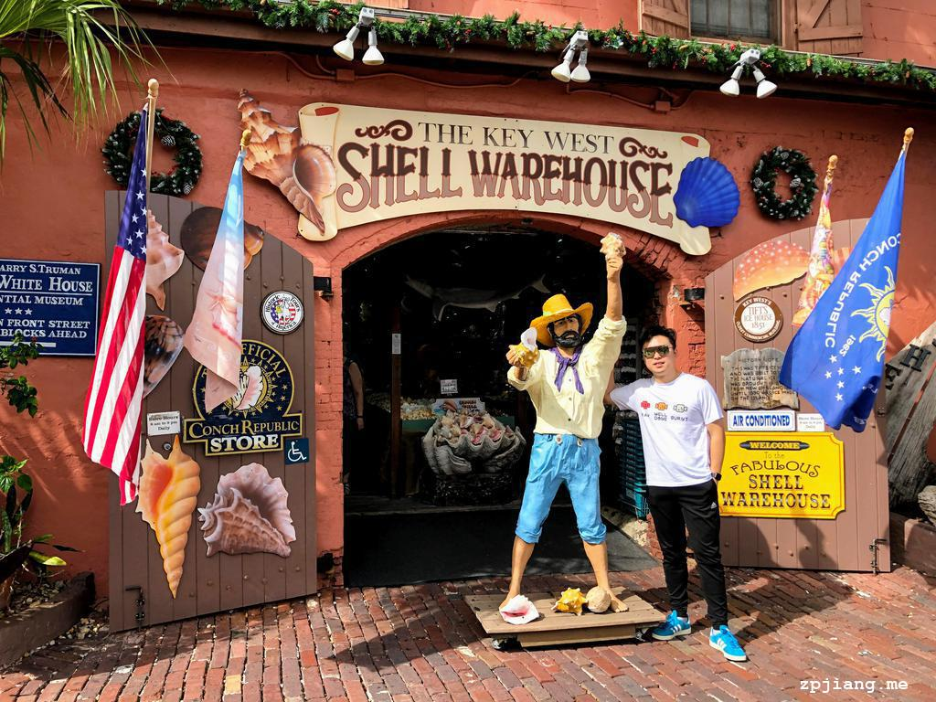 Gift shop in Key West.
