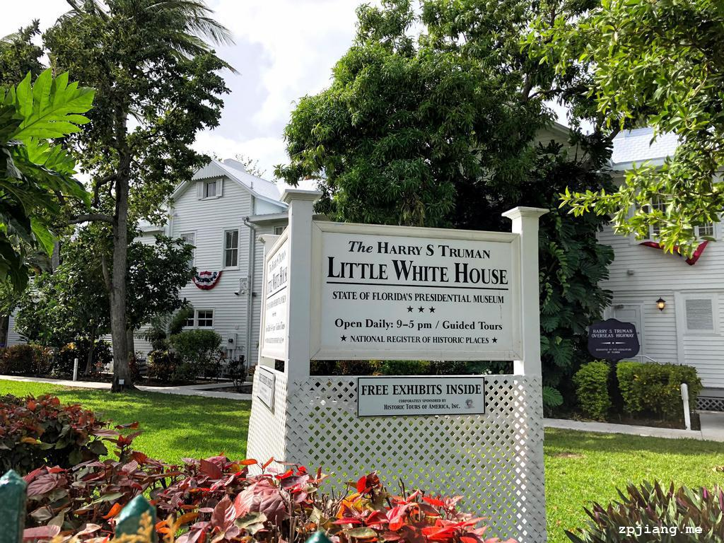 The Truman's little white house.