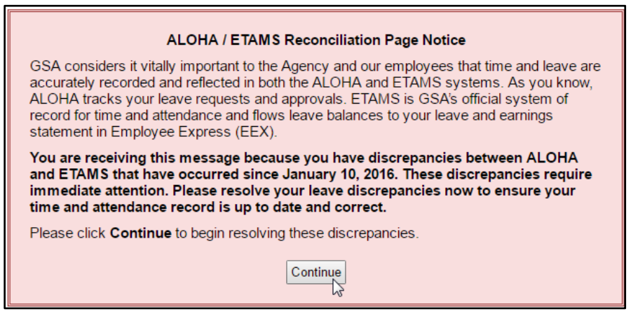 aloha-etams-reconciliation-feature-warning