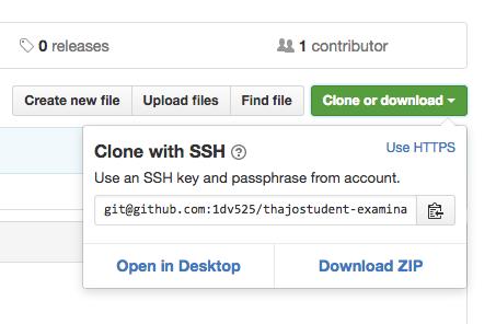 Clone URL