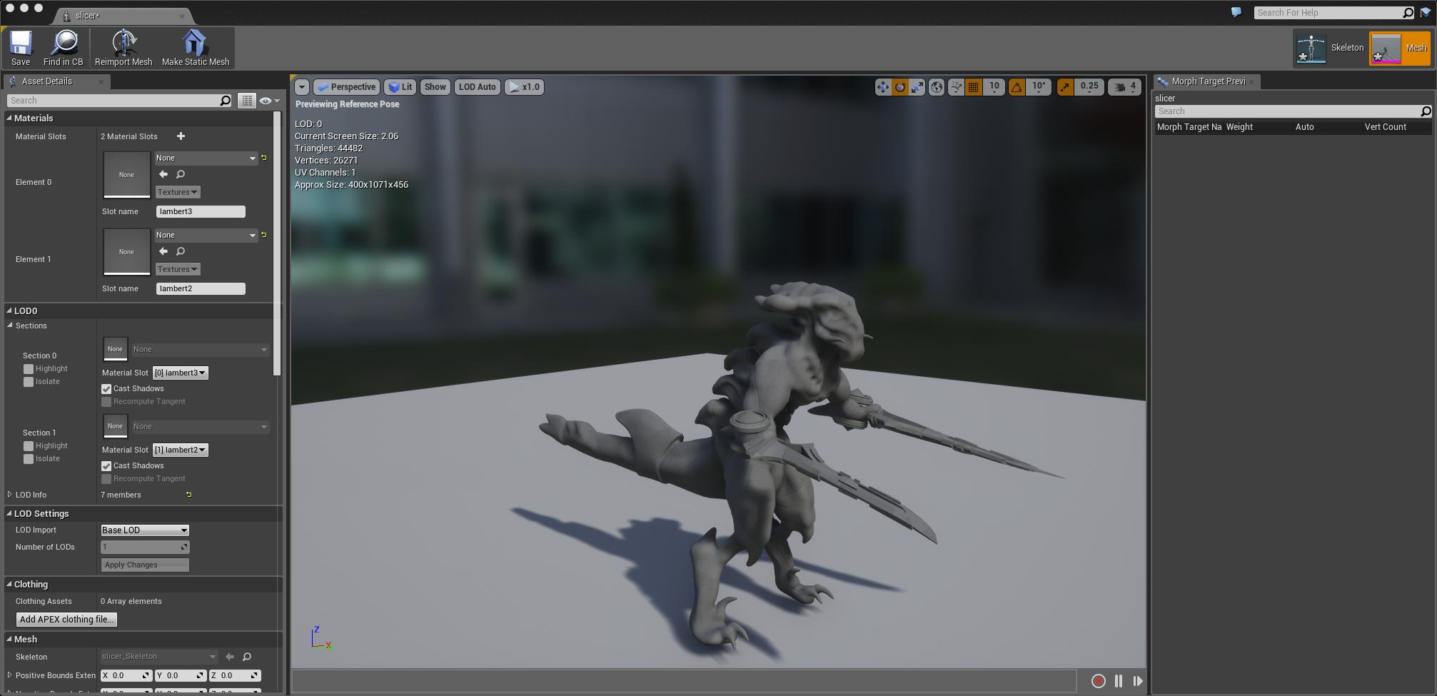 The Kaiju model