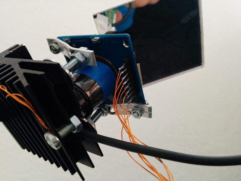 Projector closeup