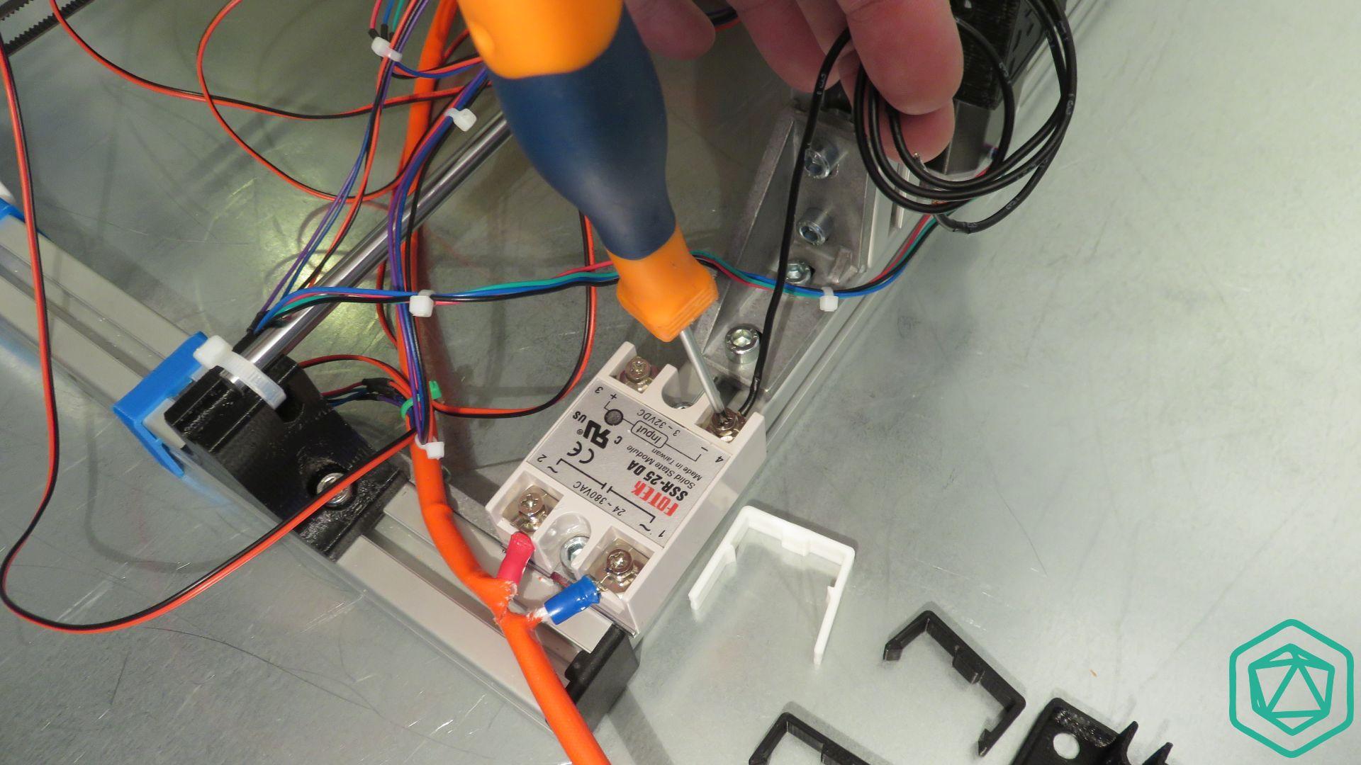 Connexion du relais statique