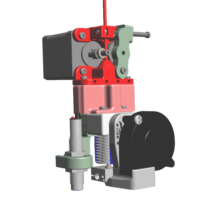 Direct Drive extruder Assembly