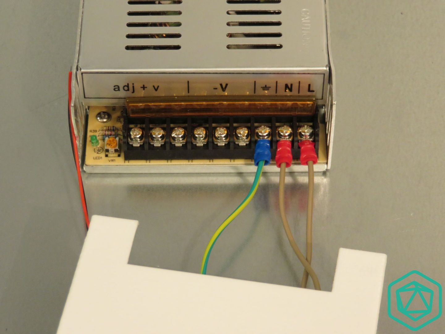 12V 360W power supply assembly - 3D Modular Systems