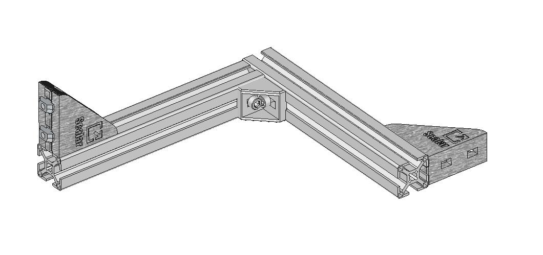support de bobine en aluminium