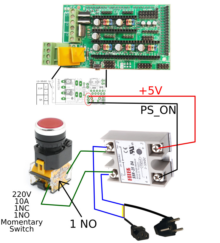 PS_ON kit wiring diagram