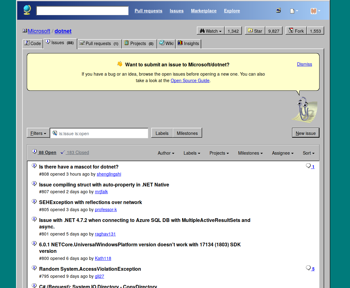 GitHub - 3lo1i/WinHub-98: A modern-looking userstyle for GitHub