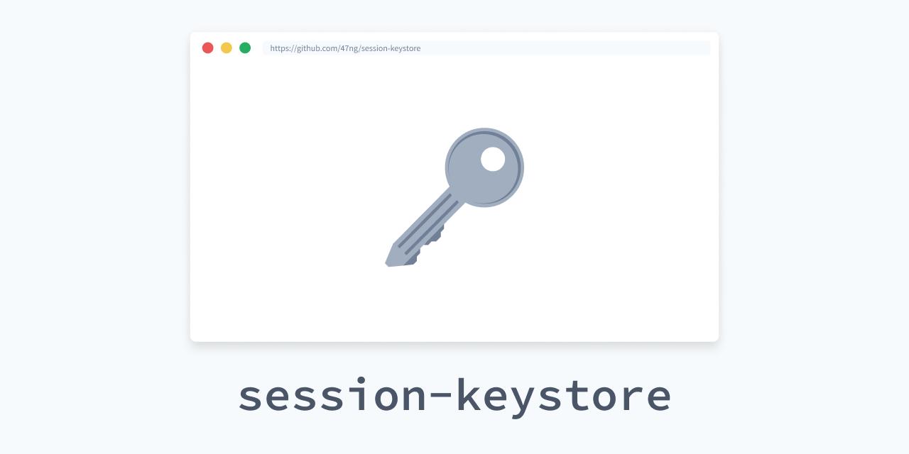 session-keystore