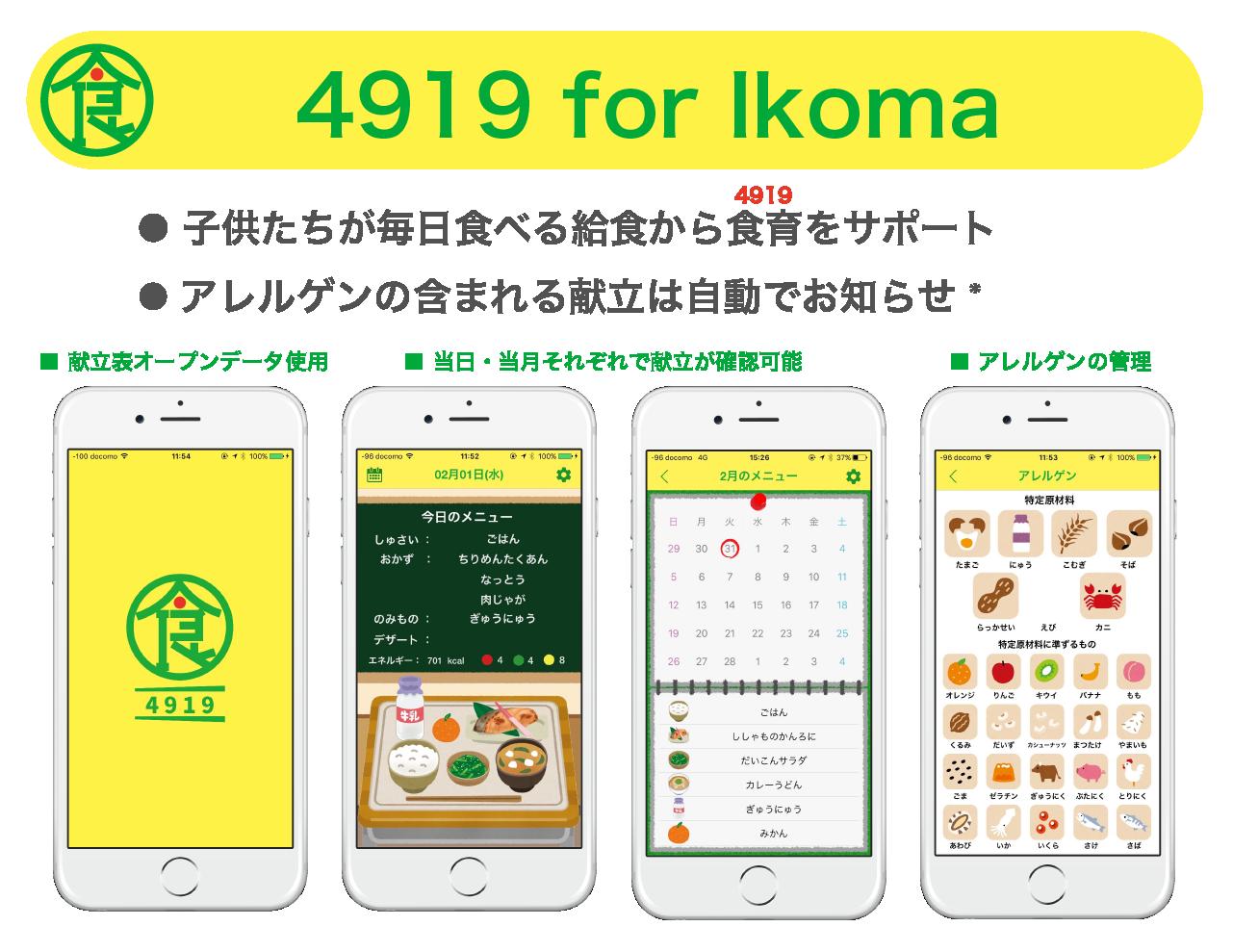 4919 for Ikoma