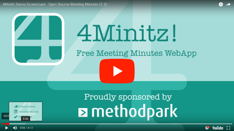 4Minitz Demo Video