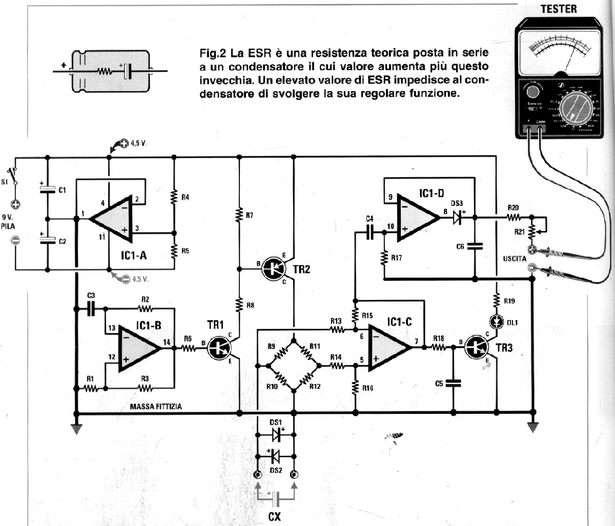 github 4x1md analog esr meter analog esr meter rh github com elektor esr meter schematic esr tester schematic diagram