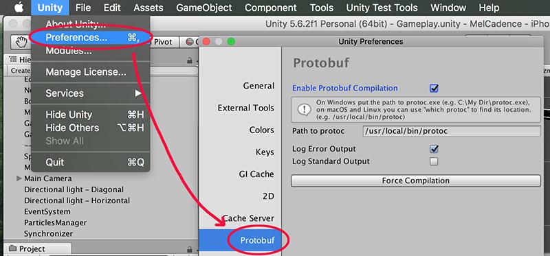 Protobuf Unity - UnityList