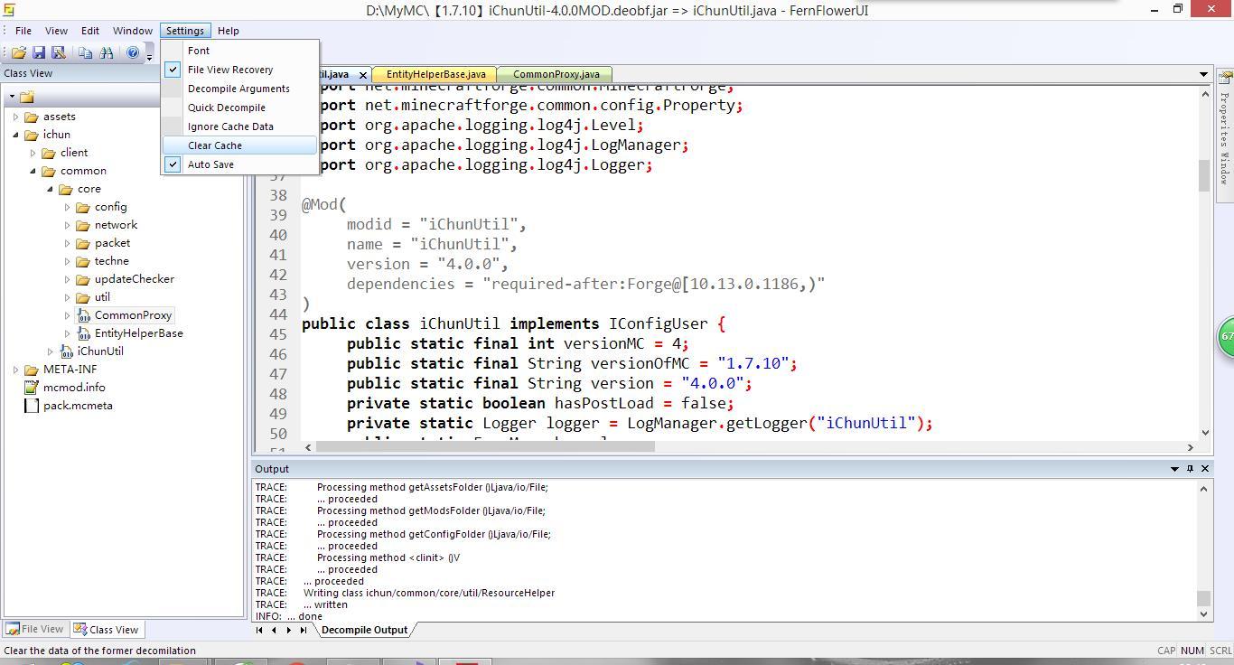 GitHub - 6168218c/FernflowerUI: The fernflower decompiler