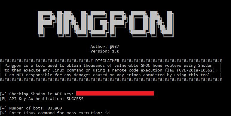 GitHub - 649/Pingpon-Exploit: Exploit for Mass Remote Code