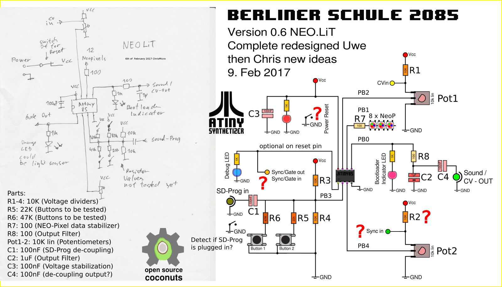 Updated Schematics v0.7,Chris & dusjagr re-design