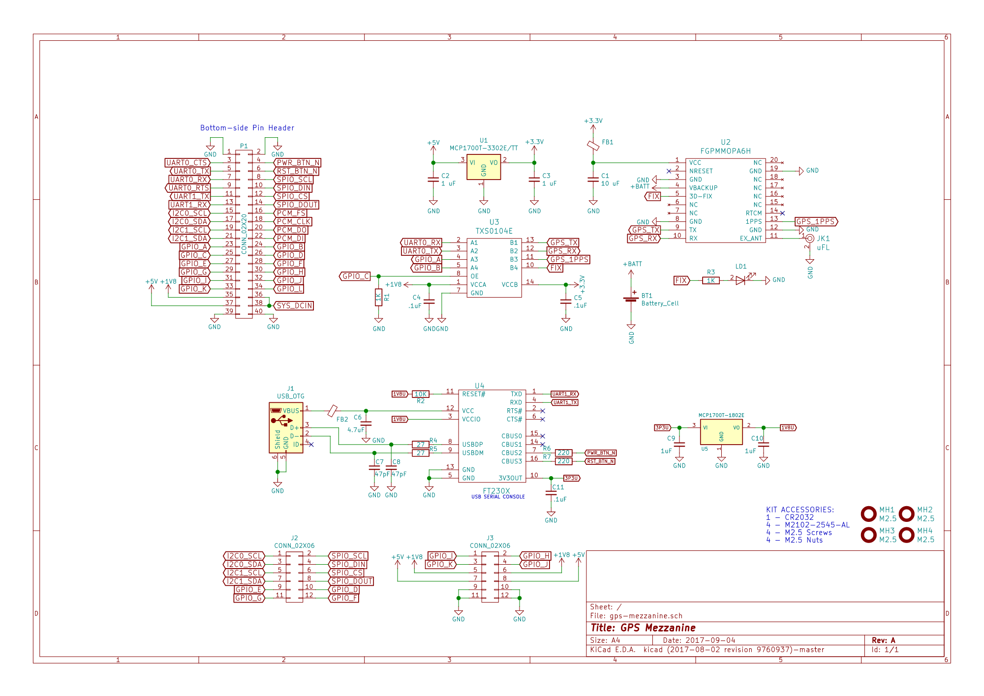 96boards Gps Mezzanine Groupgets Circuit Schematic