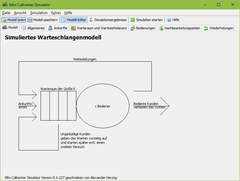 Mini Callcenter Simulator