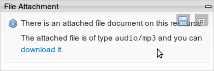 module status: download / deletion possible