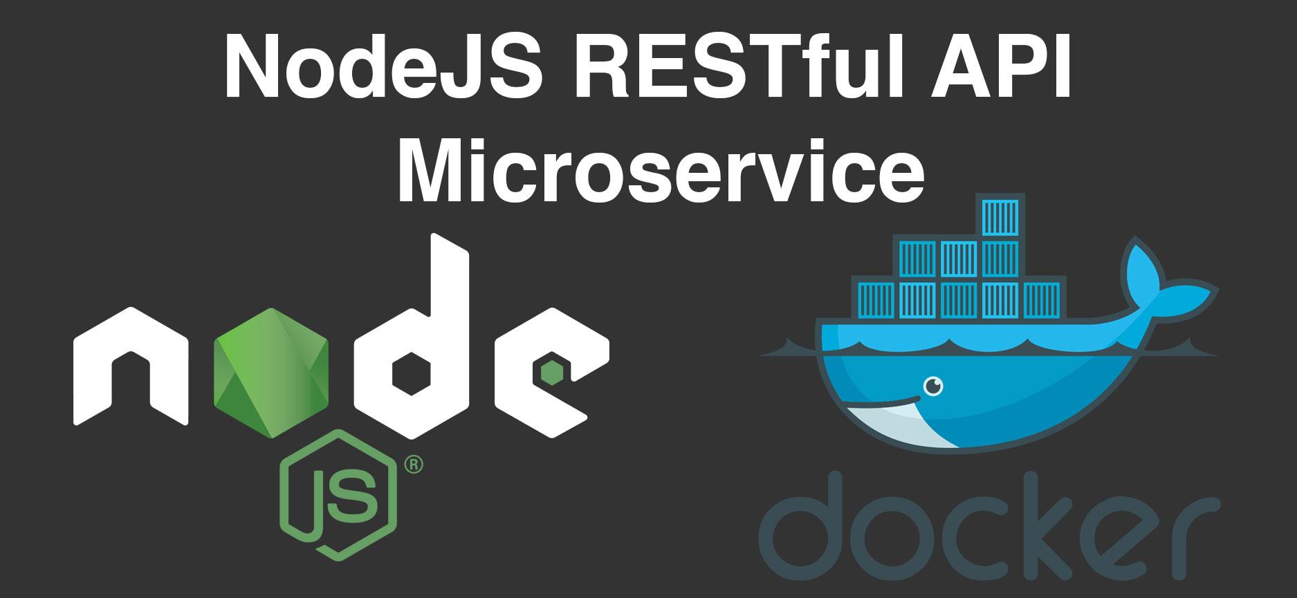 NodeJS RESTful API Microservice Logo