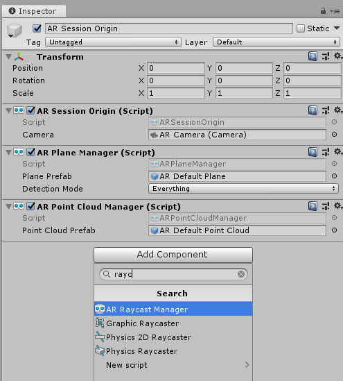 Raycast Manager