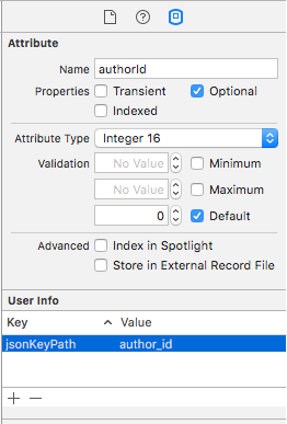Customizing a property mapping