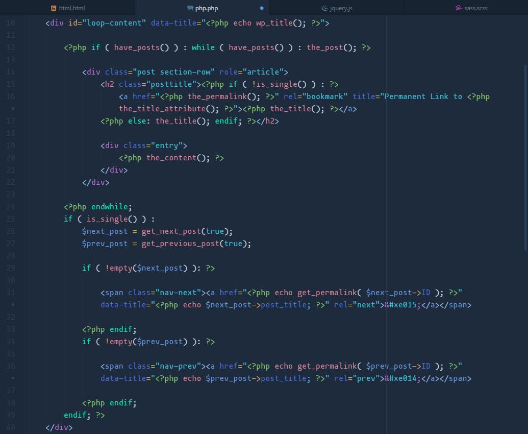 quietude-syntax php