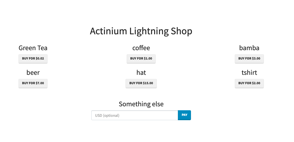 Lightning Network with LND and Joule extension · Actinium