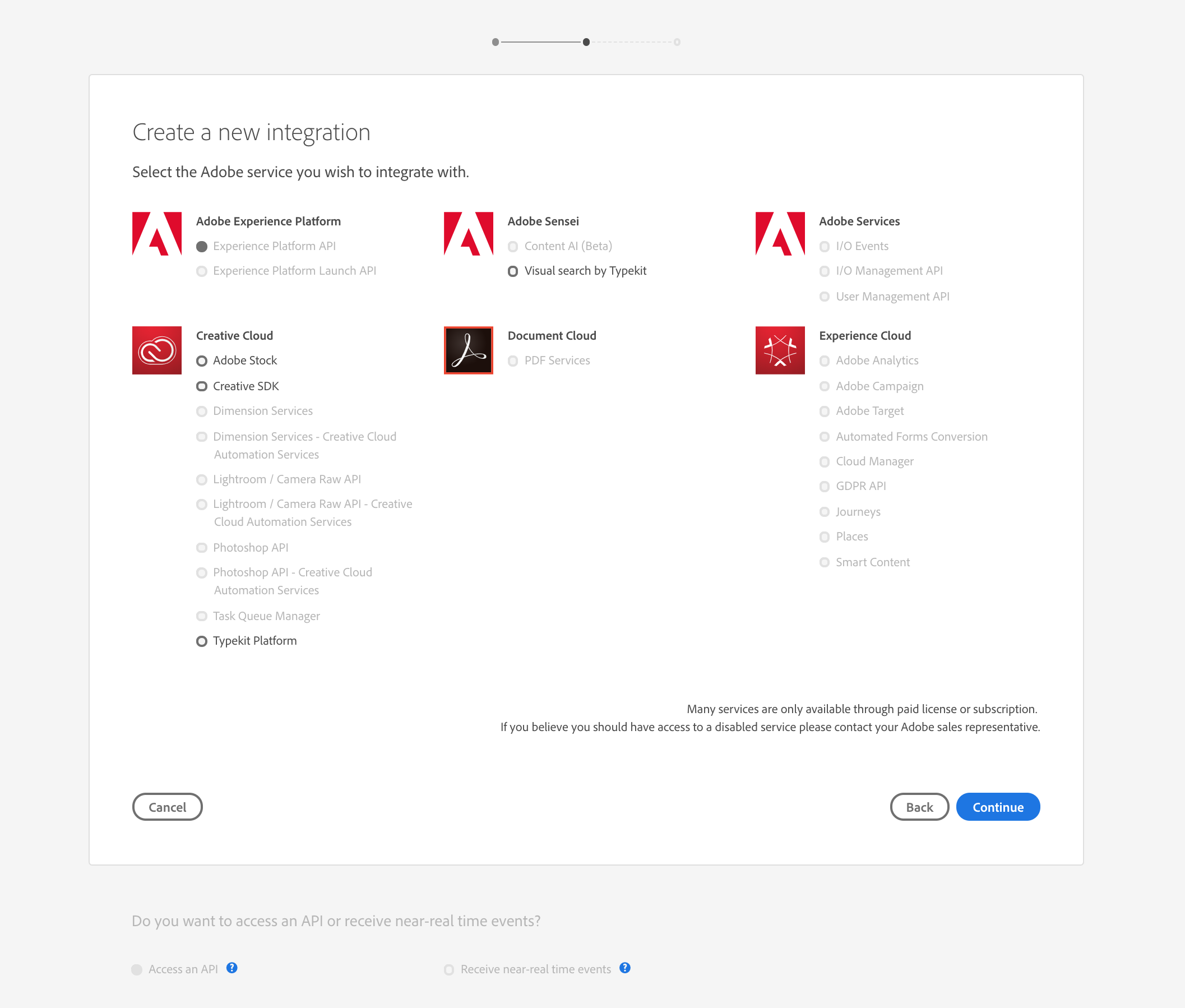 Authenticate and access Adobe Experience Platform APIs