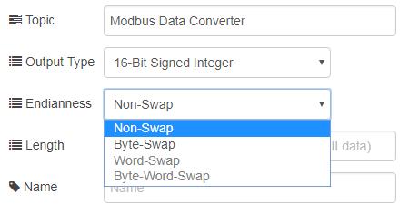 Convert Modbus Register To Float