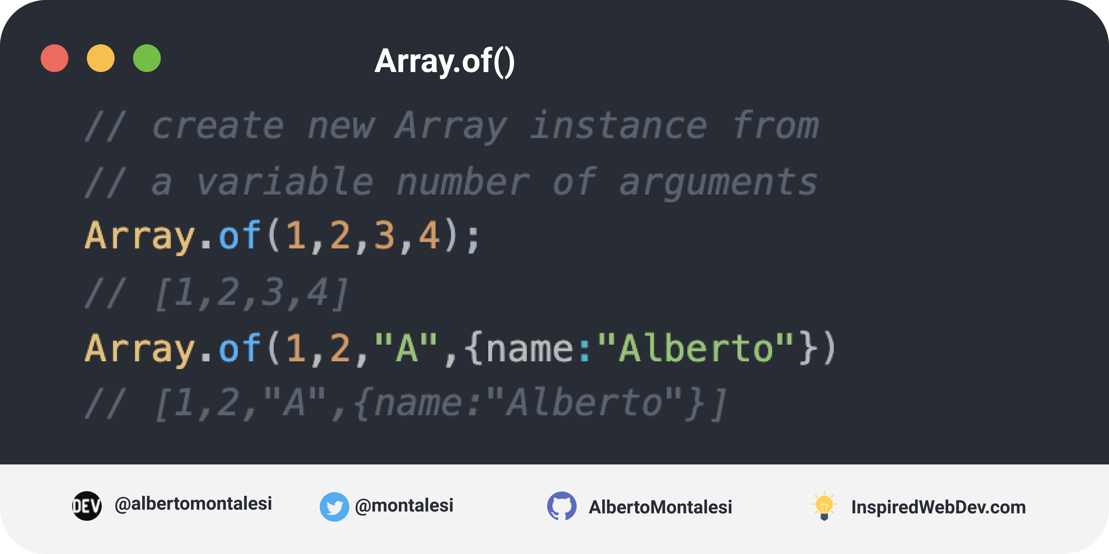 Array.of()