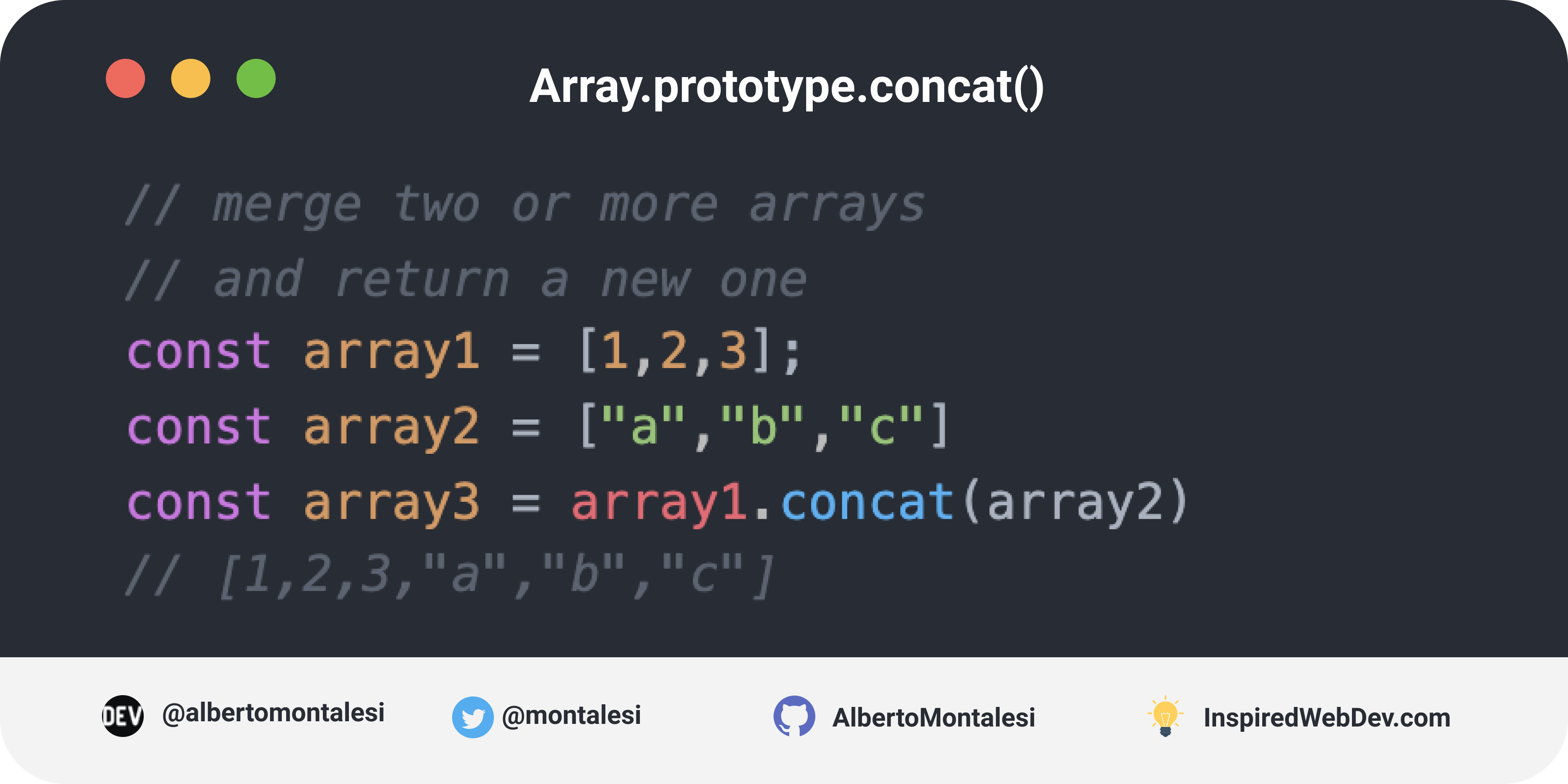 Array.prototype.concat()