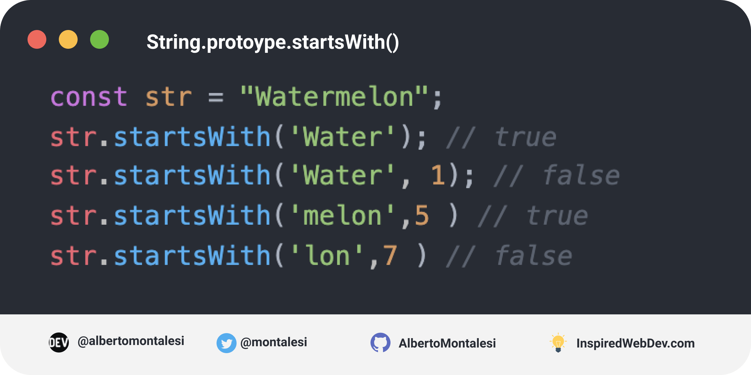 String.prototype.startsWith()