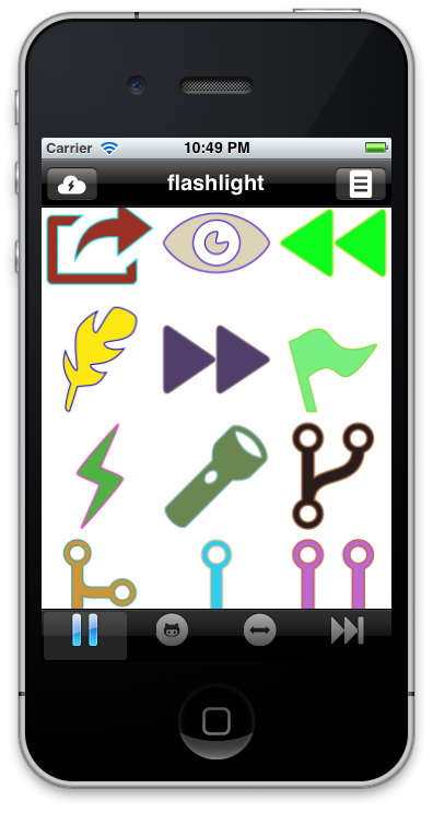 FontasticIcons example