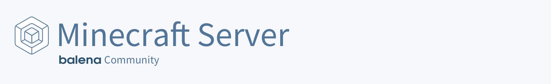 balena Minecraft Server logo
