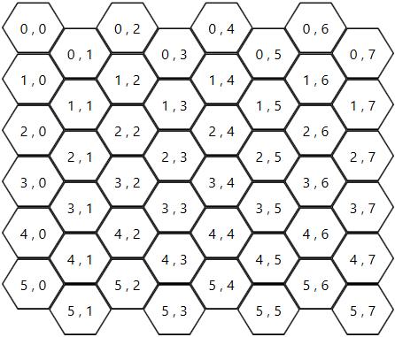HexGrid board