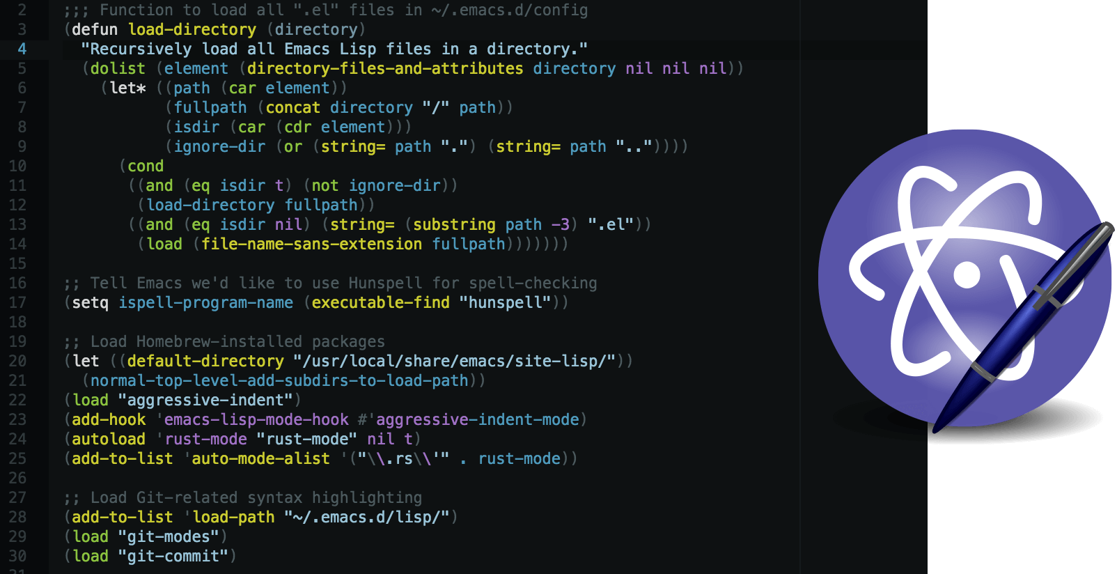 how to run javascript in atom editor