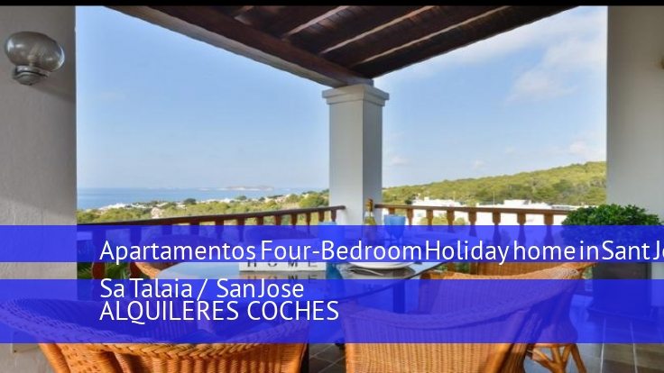 Apartamentos Four-Bedroom Holiday home in Sant Josep de Sa Talaia / San Jose