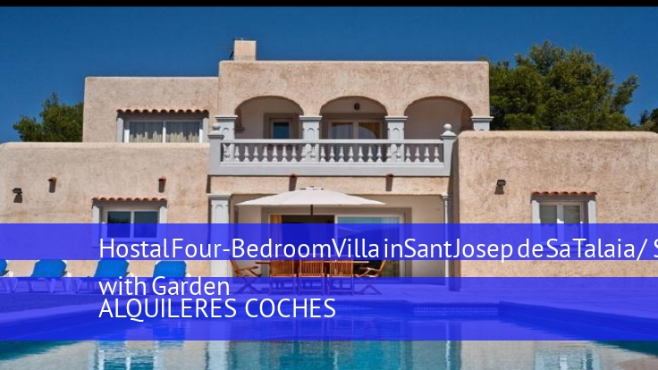 Hostal Four-Bedroom Villa in Sant Josep de Sa Talaia / San Jose with Garden booking