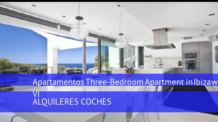 Apartamentos Three-Bedroom Apartment in Ibiza with Pool VI