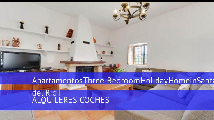 Apartamentos Three-Bedroom Holiday Home in Santa Eulalia del Río I
