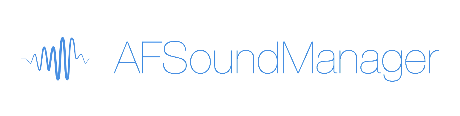 AFSoundManager on CocoaPods org