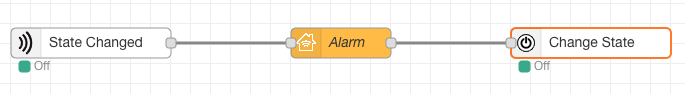 Homekit Bridge Alarm Example
